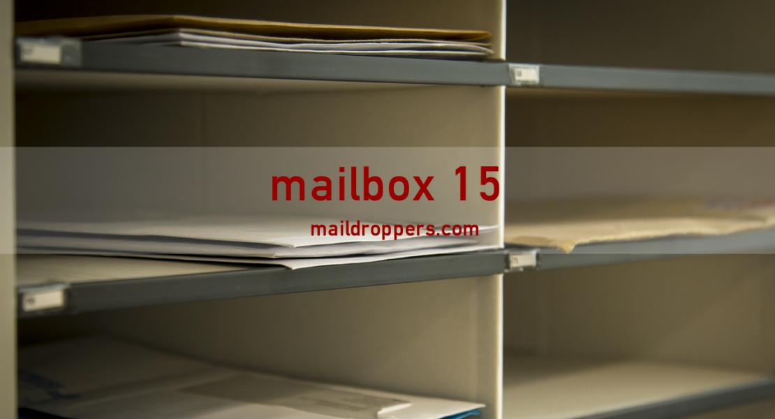mailbox 15 mail collection address